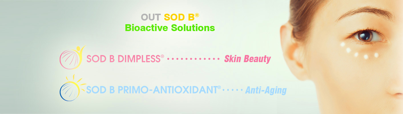 cosmetics out SOD B solutions