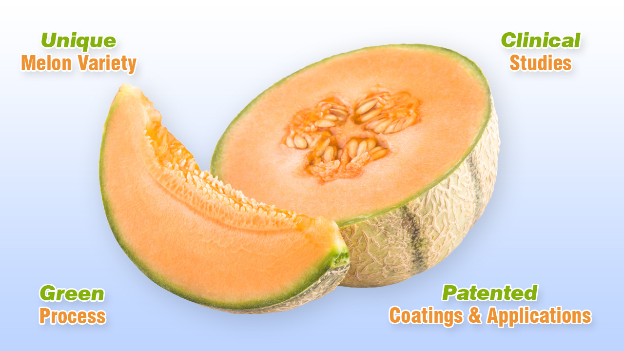 Bionov is the unique producer of 100% natural and bioactive melon SOD